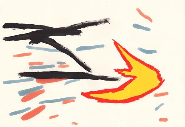 Le cru et le cuit  - 06/2011 • 40x60