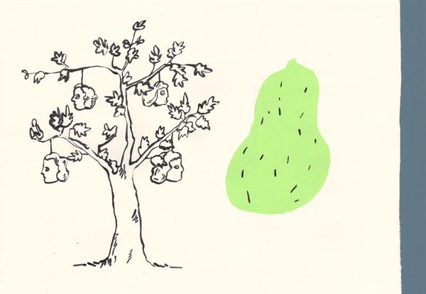 Où poussent les fruits ? - 06/2011 • 40x60