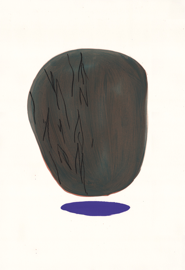 Le rocher I - 03/2013 • 60×40