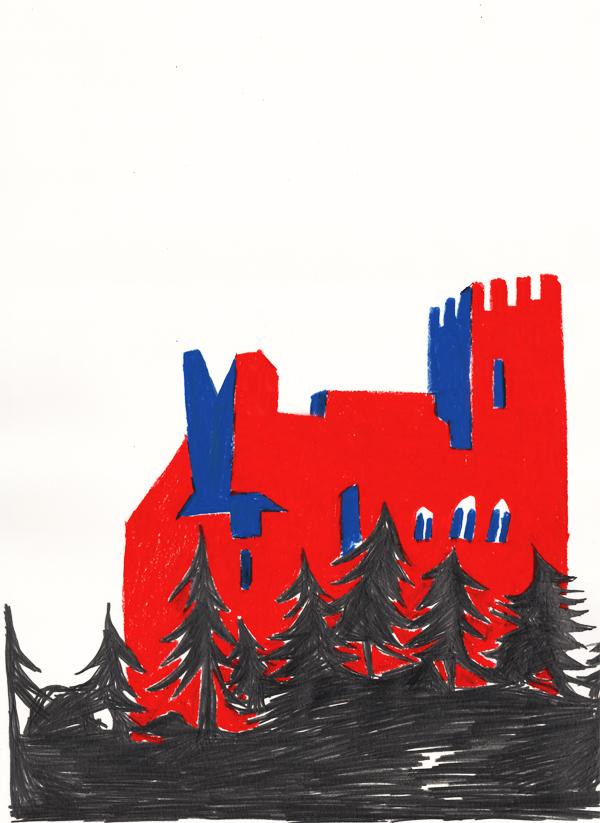 Le Chateau – 03/2013 • 60x40